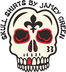 Skulls Shirts By Jamey Green