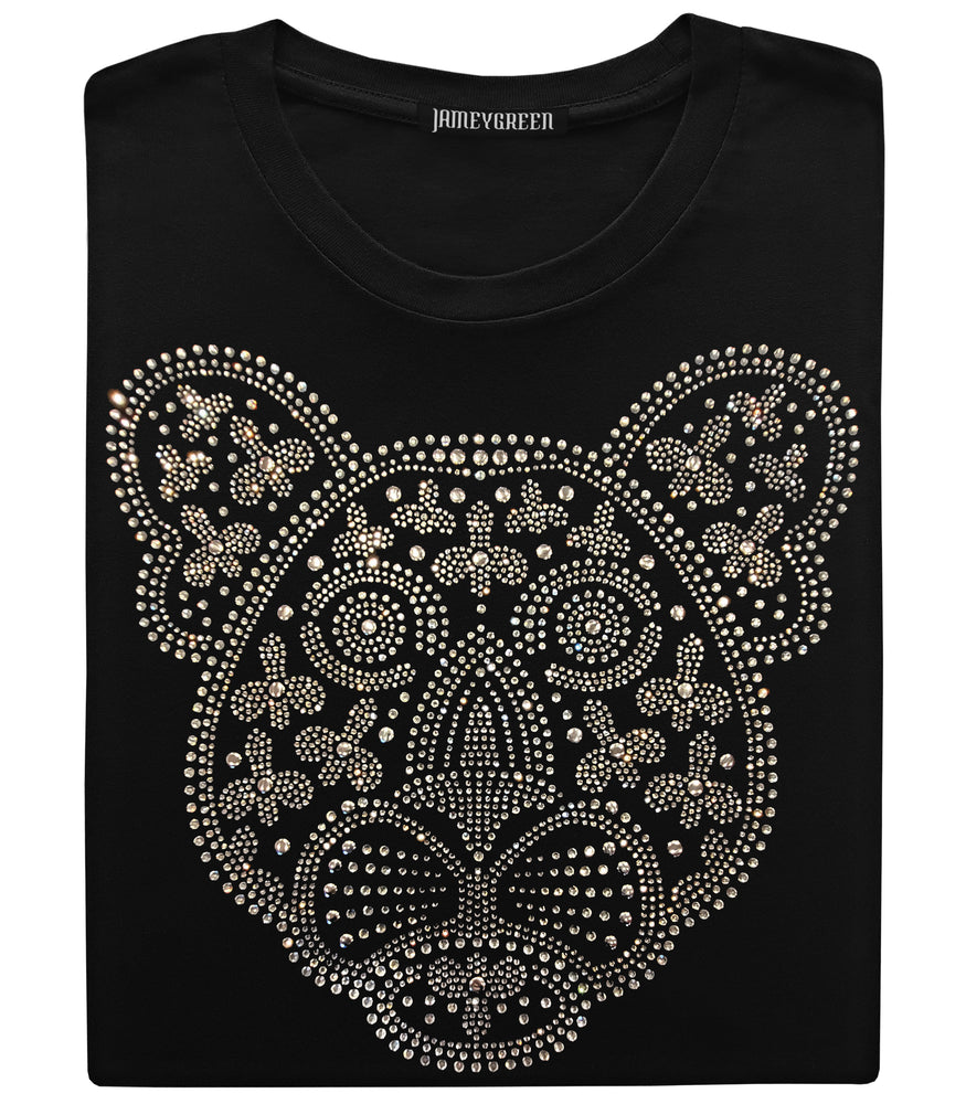 Leopard Bling T-shirt