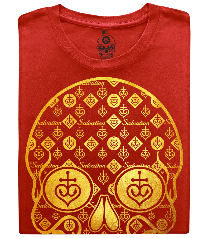 Gold Skull T-shirt Shiny - 2 colors