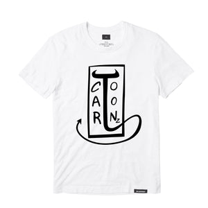 CaRtOoNz® ABSTRACT TEE (WHITE)