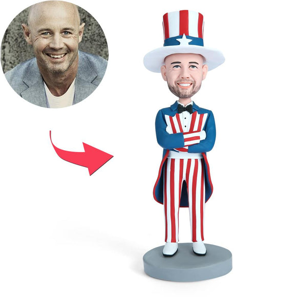 Uncle SAM Custom Bobblehead