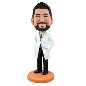 Doctor With Lab Coat Custom Bobblehead The Middle East