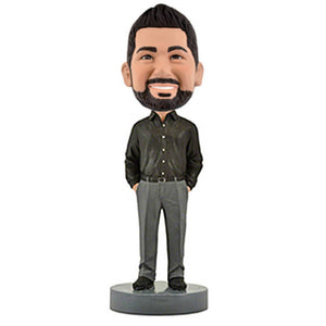 Business Casual Male C Custom Bobblehead The Middle East