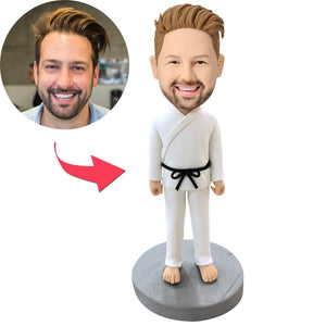 Male Martial Arts Custom Bobblehead