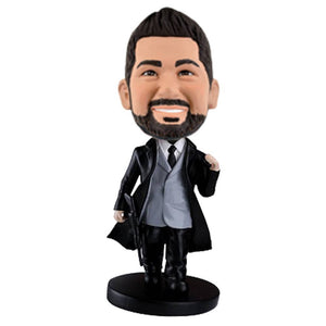 James Bond 007 Custom Bobblehead The Middle East