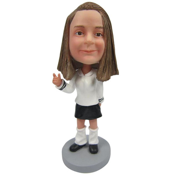Small Girl Custom Bobblehead