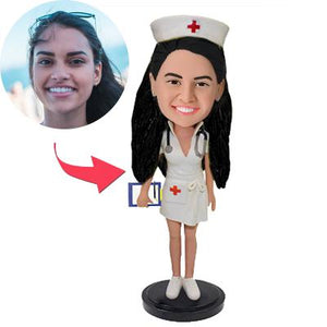Beautiful Nurse Custom Bobblehead