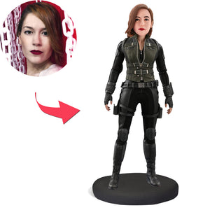 Black Widow Custom Bobblehead
