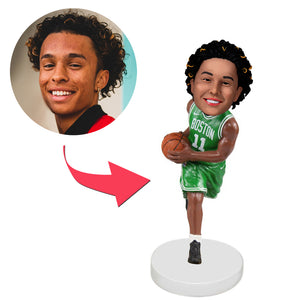 Boston Celtics Basketball Player Custom Bobblehead