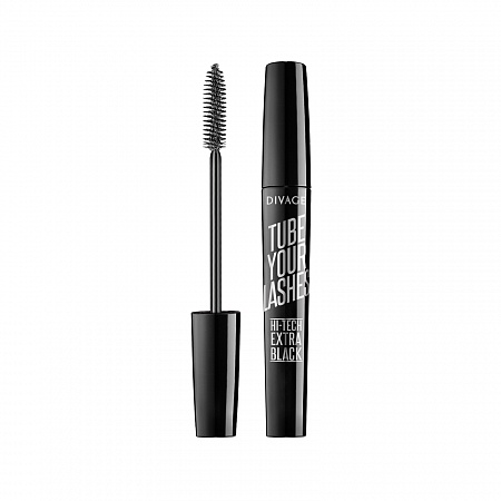 TUBE YOUR LASHES  EXTRA BLACK MASCARA - Divage
