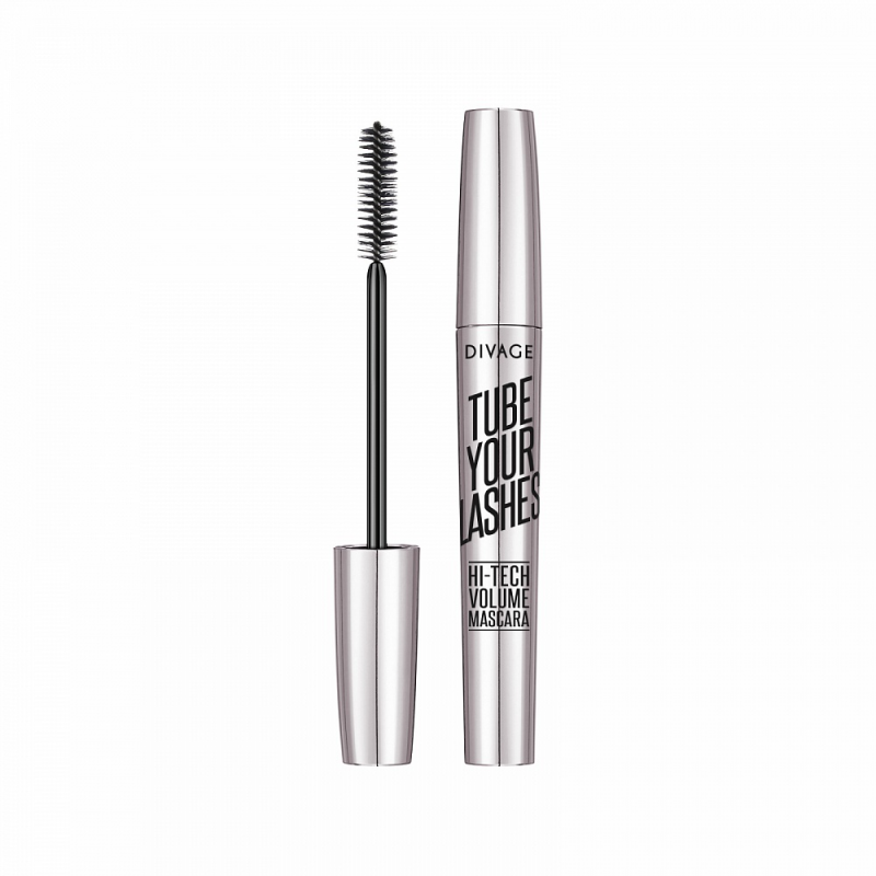 TUBE YOUR LASHES HI-TECH VOLUME MASCARA - Divage