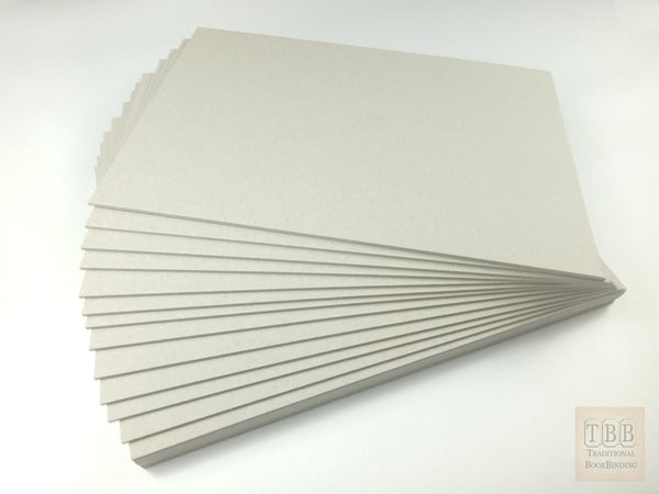 ACID FREE bookbinding boards- Professional standard 2.3 mm thick- The perfect thickness for making books