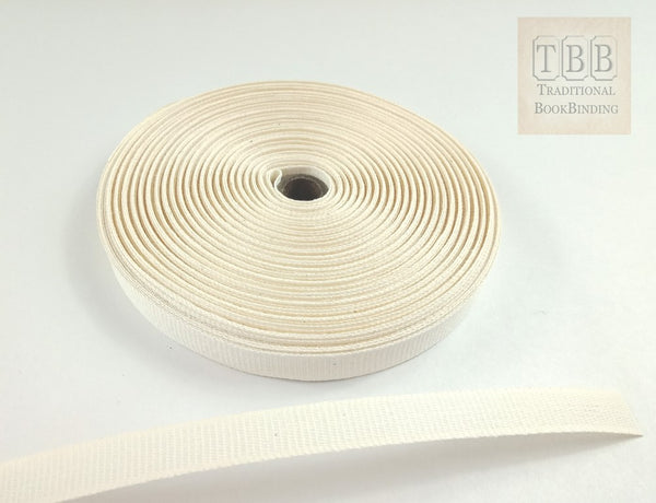 Quality bookbinding cotton tape 13mm- Specially designed for bookbinding