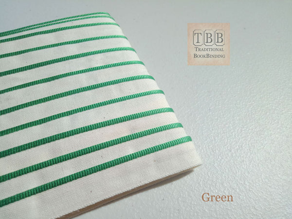 Quality bookbinding headband- Book endband- Green