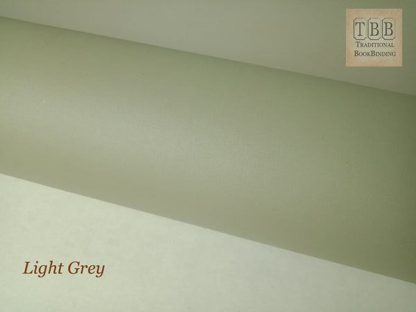 Quality Bookbinding Cloth- Durable buckram with paper backing- Light grey