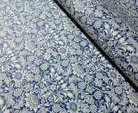 Navy blue- Italian Decorative Paper- 100 GSM Thick paper for bookbinding- Suitable for book covers and end sheets