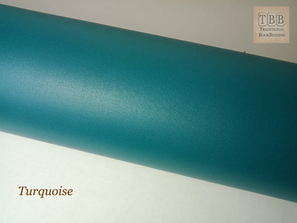 Quality Bookbinding Cloth- Durable buckram with paper backing- Turquoise