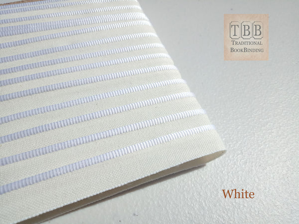 Quality bookbinding headband- Book endband- White
