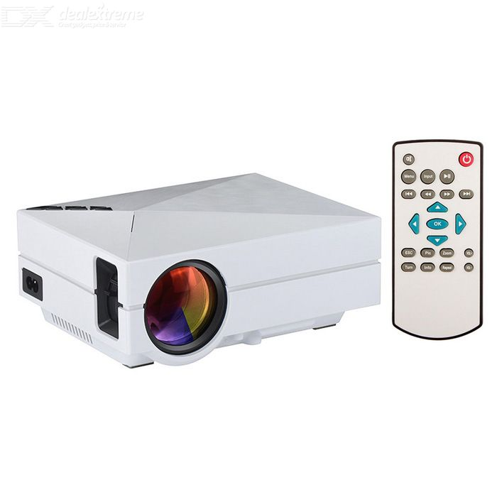 GM60 Mini Digital HD Home Theater Projector with HDMI, USB, SD