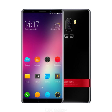 Elephone P11 Naked-eye 3D Deca Core 4G Phablet 4GB RAM 64GB ROM 16.0MP Rear Camera Fingerprint Sensor - Black