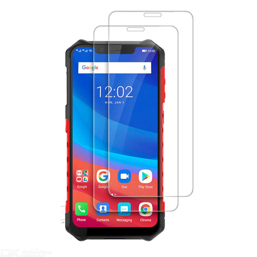 2Pcs 2.5D Tempered Glass Screen Protector for Ulefone Armor 6 Phone Film