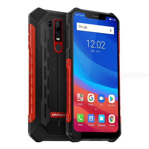Ulefone Armor 6 Waterproof 6GB RAM 128GB ROM Android 8.1 5000mAh Battery Global Version 6.2 inch 4G Phone