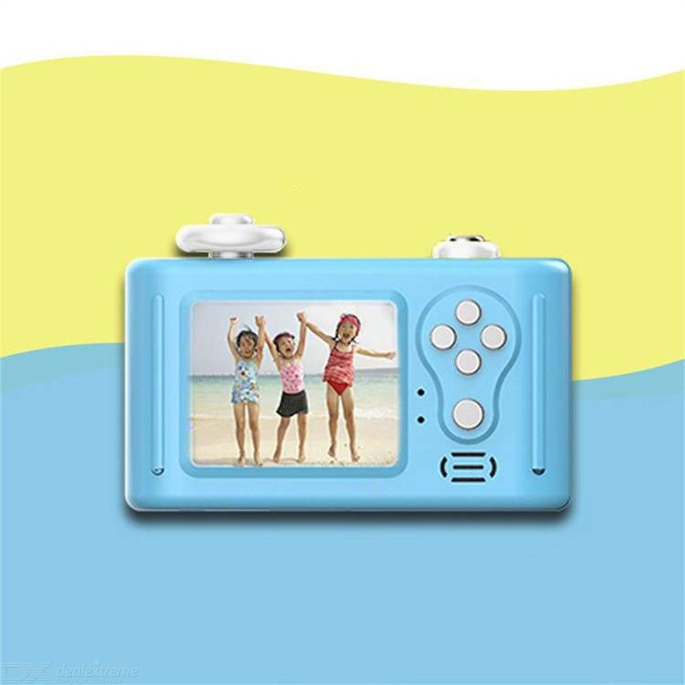 D3 Plus Digital Video Camera Creative Panda DIY Camera For Kids With Soft Silicone Protective Shell Learn Mini Camera