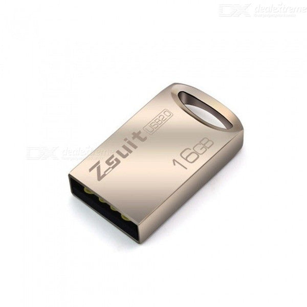 ZSuit M29 Mini Portable Metal USB 2.0 Flash Drive 32GB USB Flash Memory Stick Pendrive Silver