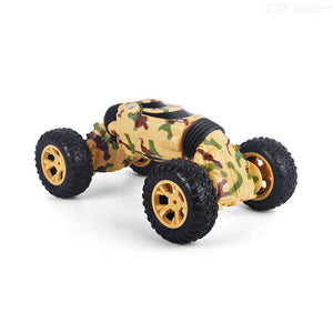 Four Wheel Drive Vehicle Crawler 4 Channels Double Sided Stunt Transform Climber Off-Road RC Car Toy