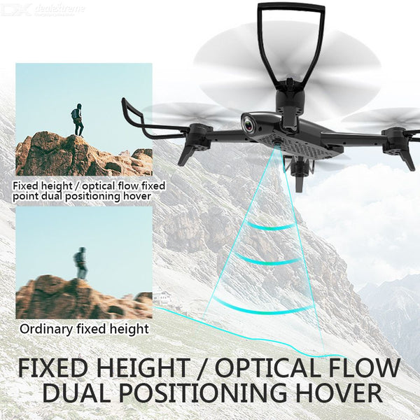 SG106 Wi-Fi FPV RC Helicopter Quadcopter Drone with HD 720P Camera Optical Flow Positioning 22mins Flight Time