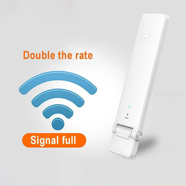Original Xiaomi WiFi Range Extender Repeater 2.4GHz 300Mbps Wireless Signal Booster For WiFi Router - USB Powered