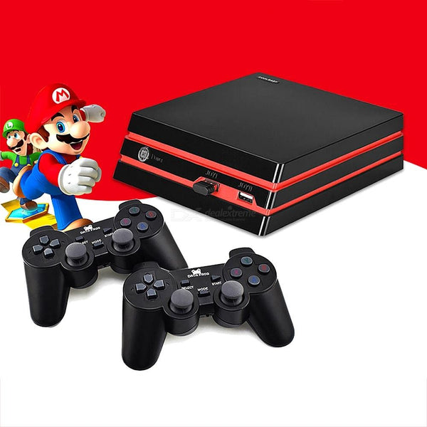 DATA FROG Y3 Game Console HD Gaming Machine Support 4K HDMI Output With 600 Built-in Games And 2 Wireless Controllers