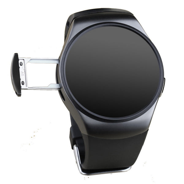 KW18 Full Circular Screen Heart Rate Smart Watch