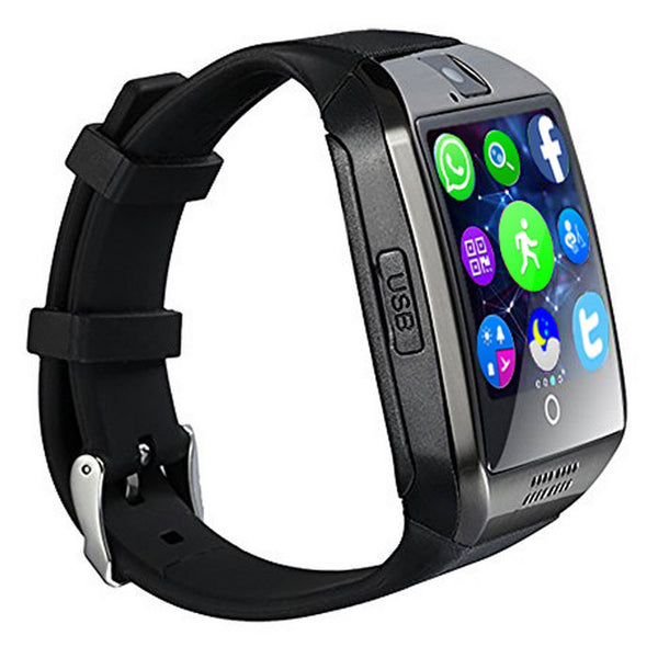 Q18 MTK6261D Smart Watch w/ Built-in Facebook WhatsApp
