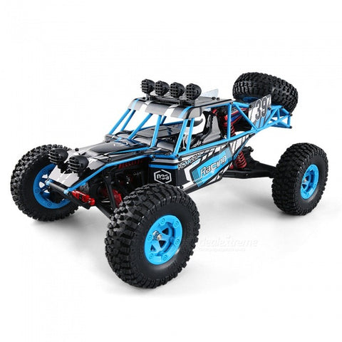 JJRC Q39 112 2.4G 4WD Short-course Truck RC Car - Blue