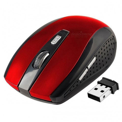 Centechia 2.4GHz Wireless Optical Mouse with USB 2.0 Receiver for PC Laptop