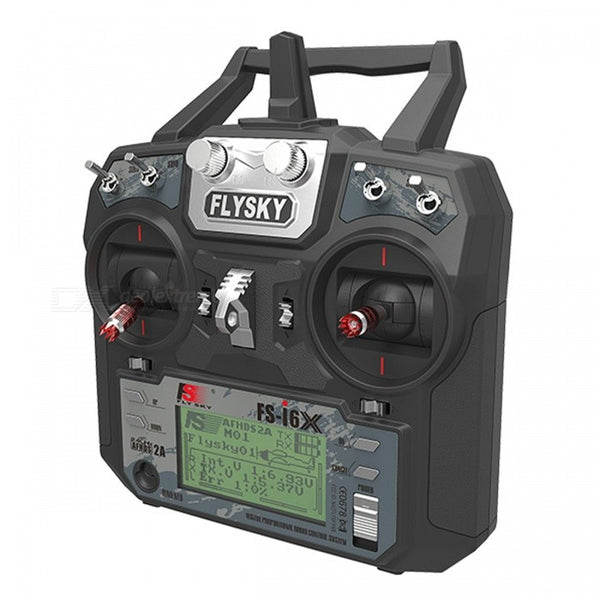 Flysky FS-i6X 2.4GHz 6CH RC Transmitter I6X with IA6B Receiver