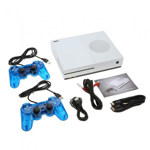 Family Retro Game Console with Built-in 600 Classic Games - HD Output Version