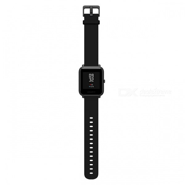 Original Xiaomi Huami Amazfit Bip BIT PACE Lite Youth Global Version Smart Watch w IP68 Waterproof- Black