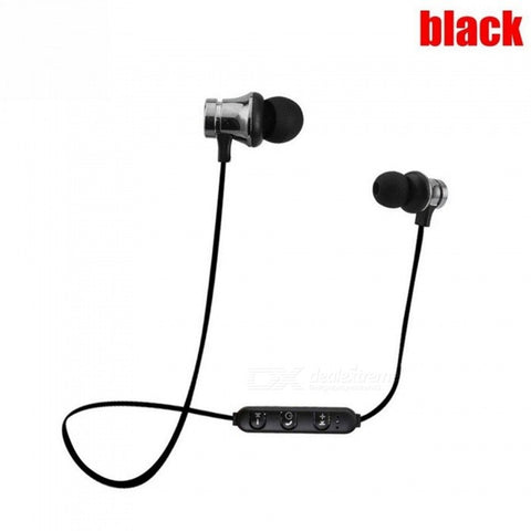 XT-11 Bluetooth Earphone Magnetic Wireless Sports Headset Bass Music Earbuds Mic for Mobile Phones and More Devices
