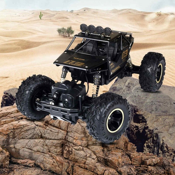 ESAMACT RC Car 1/12 4WD Rock Crawlers 4x4 Driving Car Double Motors Drive Bigfoot Car Remote Control Model Off-Road Vehicle Toy