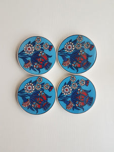 Handmade Traditional Tile Art Coasters