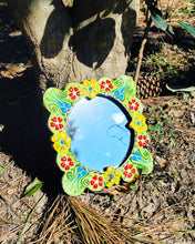 Load image into Gallery viewer, Handmade Traditional Ceramic Mirror