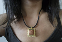 Load image into Gallery viewer, Handmade, Thick Framed, Sumerian Wish Tablet Necklace