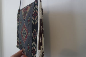 Authentic, Handwoven, Small Kilim Bag