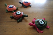 Load image into Gallery viewer, Mini Turtle Evil Eye Desk Charms
