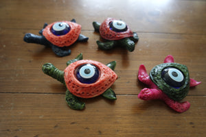 Mini Turtle Evil Eye Desk Charms