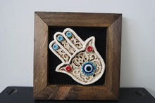 Load image into Gallery viewer, Evil Eye Framed Home Decor