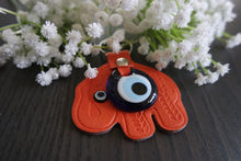 Load image into Gallery viewer, Handmade Mini Evil Eye Key Chains