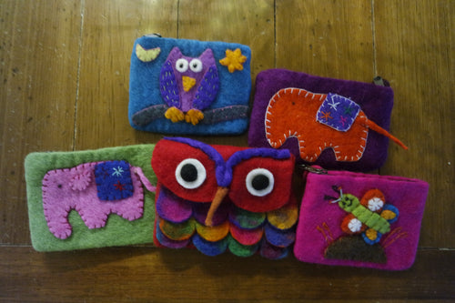 Handmade Felted Purses